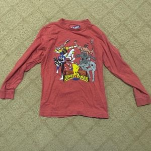 Old Navy Power Rangers Graphic Long Sleeve Tee